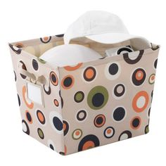 Neatfreak Small Bin with Label, Pop Rocks, Multicolor