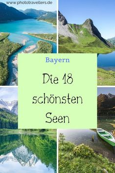 The 18 most beautiful lakes in Bavaria + tips for trips Die 18 schönsten Seen in Bayern + Ausflugstipps Bavaria has so many great lakes that you simply have to see. Europe Destinations, Europa Tour, Grands Lacs, Voyage New York, Excursion, Great Lakes, Camping Hacks, Outdoor Travel, Natural Beauty