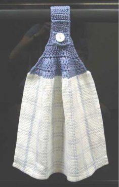 Free Basic Towel Topper Pattern [FP138] - $0.00 : Maggie Weldon, Free Crochet Patterns