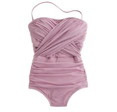 The lovely lavender swimsuit I bought  for my trip to Hawaii...