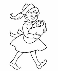 ABC Coloring Sheet, Letter N is for Nurse | coloring books and ...
