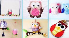 9 artesanatos com Corujas que você precisa fazer agora!