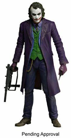 The Dark Knight Joker 1/4 Scale Action Figure. #joker #batman alteregocomics.com