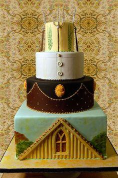 American_Gothic_Wedding_Cake