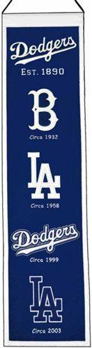 Los Angeles Dodgers Winning Streak Heritage Banner