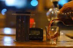great coffee beans brewed with a great coffee brewer resulting great coffee drink!!!  by: @areido . . . #aeropress #aeropressid #aeropresscoffee #manualbrewing #manualbrew #coffeetime #coffeedrink #coffeeaddict #coffeeshop #greatcoffee #coffeegram #instagram #coffeeporn #coffeegraph #kedaikopi #seduhmanual #seduhkopi #tukangkopi #tukangseduh #barista #manmakecoffee #baristabogor #visitbogor #kulinerbogor http://ift.tt/1Vbg53z