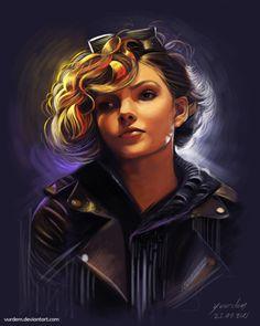 Selina Kyle (Gotham's Camren Bicondova) by Yasar Vurdem