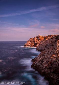 Lighthouse Cala Ratjada by nicolas mattelaer, via 500px