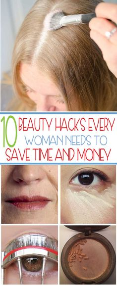 Save time and money with these easy beauty hacks. Get more time in your morning routine and put some extra money in your pocket with these simple beauty hacks.