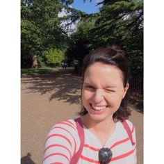 Smile! Enjoy life! Hyde Park / London