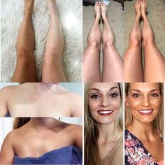 Sunless tanning at it's best! Nu Skin, Best Self Tanner, Beauty Must Haves, Beauty Magazine, Makeup Transformation, Anti Aging Skin Care, Face And Body, Makeup Looks, Golden Tan