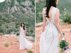 Tendance Robe du mariée 2017/2018  Bohemian Mara Hoffman wedding dress