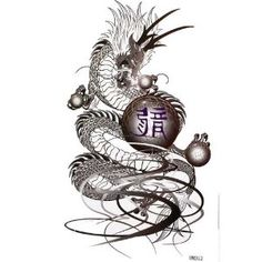 King Horse Tattoo sticker waterproof men and women fashion sexy tattoo black dragon --- http://www.amazon.com/King-Horse-sticker-waterproof-fashion/dp/B007QX4YBA/?tag=jayb4903-20