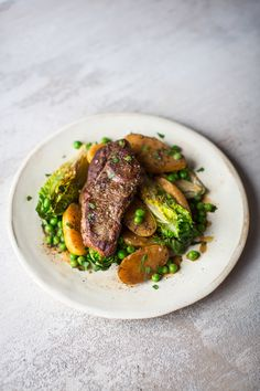 As winter comes to a close, celebrate the new season with this dish that is packed with all the flavours of spring. Irish Recipes, Lamb Recipes, New Recipes, Dinner Recipes, Cooking Recipes, Fresh Chicken, Frozen Peas, Just Cooking, Healthy Eating
