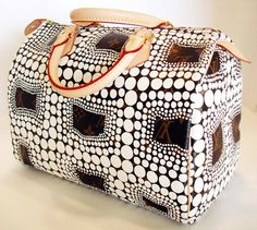 Louis Vuitton Satchel - wow, this is the cutest carryon / duffel ever!!! #travel #flight