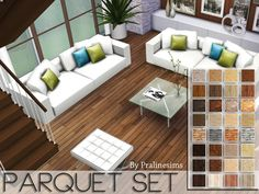 Sims 4 CC's - The Best: Floors by Pralinesims