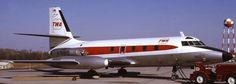 Trans World Airlines - TWA Lockheed L-1329 JetStar 8 N7961S at Kansas City-International, March 1972. TWA used this aircraft for training Boeing 727 pilots. (Photo: George W. Hamlin)