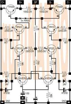 simpleKATRO Driver Amplifier nyaman didekat lantang di kejauhan | guruKATRO Electronics Projects, Hobby Electronics, Electronic Circuit Design, Electronic Engineering, Componentes Smd, Circuit Board Design, Hifi Amplifier, Electronic Schematics, Susa