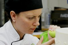 having an in-house pastry chef is unusual in these days of trimmed down kitchens and hotel industry outsourcing