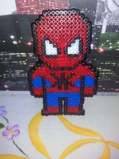 Spiderman. Hama Beads Mini.