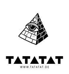 #illuminati #pyramid #tattoo #illustration