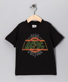 670b742778 Black AC DC  High Voltage  Tee - Toddler   Kids