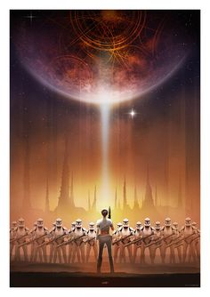 Star Wars: Padme by Andy Fairhurst, via From up North