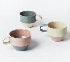 Dawn Vachon handmade ceramics via Design*Sponge and Leif