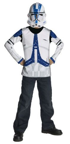Star Wars Clone Trooper Value Costume - Large Rubie's Costume Co http://www.amazon.com/gp/product/B007LN8PRO/ref=as_li_tl?ie=UTF8&camp=1789&creative=390957&creativeASIN=B007LN8PRO&linkCode=as2&tag=halloween02c8-20&linkId=UKF3NNJWPCABWK7W
