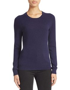 Crew Neck Cashmere Sweater | Hudson's Bay