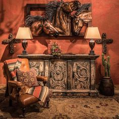 10 Rustic Country Home Decor Ideas Western Furniture, Rustic Furniture, Furniture Decor, Ranch Style Decor, Rustic Country Homes, Equestrian Decor, Leather Furniture, Classic Furniture, Home Decor Bedroom
