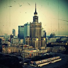 Warsaw in old style