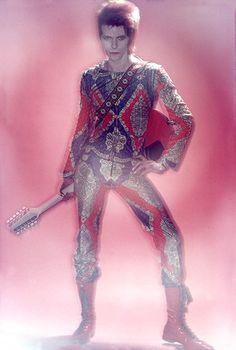 David Bowie by Brian Duffy, 1972
