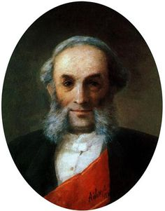 Self-portrait  - Ivan Aivazovsky - Completion Date: 1881