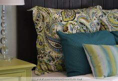 Easy DIY Euro Sham (Pillow Sham) With Flanges - Addicted 2 Decorating®