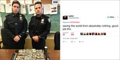 NYPD Officers Destroyed On Twitter After Bragging About Tiny...