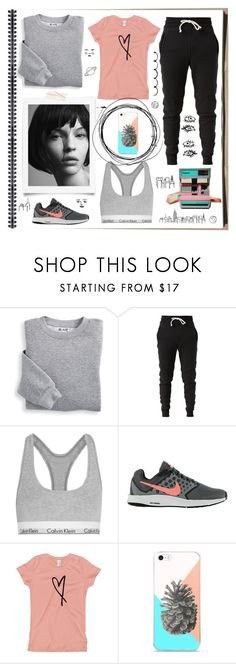 """Untitled #350"" by jeandevine ❤ liked on Polyvore featuring Blair, John Elliott, Calvin Klein Underwear and NIKE"