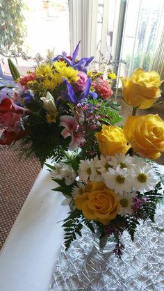 July 18, 2016- Birthday flowers.