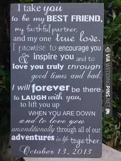 nontraditional wedding vows best photos - Page 2 of 4 - Cute Wedding Ideas Nontraditional Wedding Ceremony, Romantic Wedding Vows, Wedding Blessing, Pagan Wedding, Fall Wedding, Cute Wedding Ideas, Wedding Tips, Perfect Wedding, Inspirational Quotes