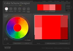 Color Scheme Designer - choose which color scheme you'd like (complementary, analagous, etc), click & drag on the circular palette to choose a color, and see what pops up, info is exportable so you can easily use schemes you create