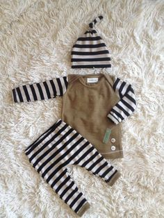 Brown/Black 3 Pc Outfit