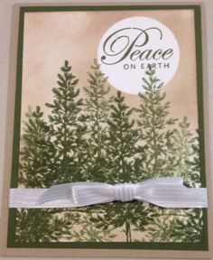 Cynthia McQueen-The Paper Queen www.aCrowningCreation.com Stampin' Up! Lovely as a Tree