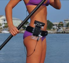 Take your DryCASE with you paddle boarding so you can listen to your favorite music and even make phone calls!