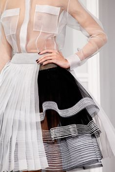 Christian Dior  Spring 2012  Couture Details