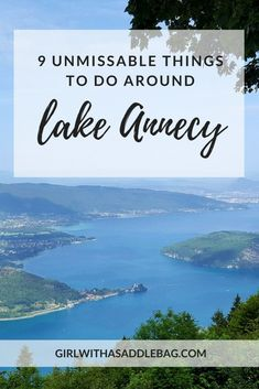 9 unmissable things to do around Lake Annecy, France - Girl with a saddle bag Best Vacation Destinations, Best Places To Travel, Best Vacations, Cool Places To Visit, Places To Go, Lyon, Provence, Lakeside Beach, Lake Annecy