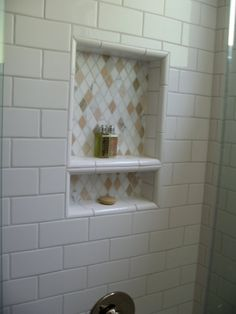 subway tiles bathtub surround - Google Search