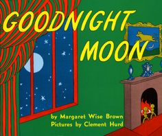 Cut into pieces for the Goodnight Moon Puzzle.