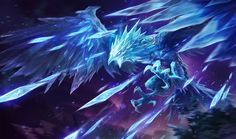 Anivia | League of Legends Anivia is a being of the coldest winter, a mystical embodiment of ice magic, and an ancient protector of the Freljord. She commands all the power and fury of the land itself, calling the snow and bitter wind to defend her home from those who would harm it. A benevolent but mysterious creature, Anivia is eternally bound to keep vigil over the Freljord through life, death, and rebirth.