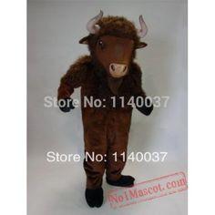 Mean Water Buffalo Mascot Costume