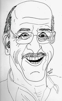 CARICATURAS DELBOY: GIANFRANCO BRERO